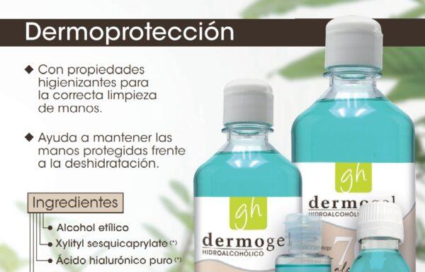 Dermogel Hidroalcohólico sin dosificador