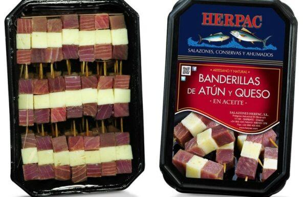 Banderillas atún y queso