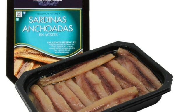 Sardinas anchoadas en aceite