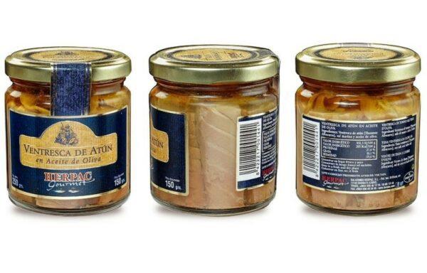 Tarro de ventresca de atún en aceite de oliva