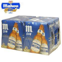 Botellín Mahou Sin (Pack)